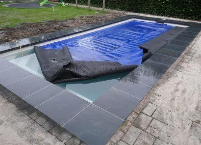Tegelrand-zwembad